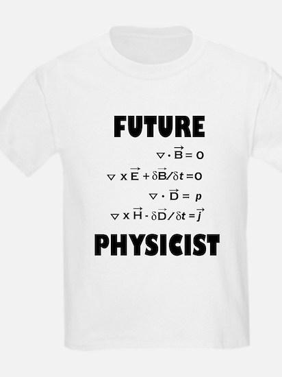 Future physicist Kids T-Shirt