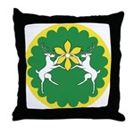 Flower of the Outlands Throw Pillow