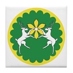 Flower of the Outlands Tile Coaster