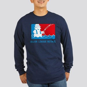 Major League Retiree Long Sleeve Dark T-Shirt