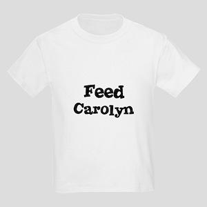Feed Carolyn Kids T-Shirt