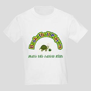 Basketball Player Kids Light T-Shirt