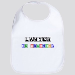 Lawyer In Training Bib