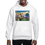 St Francis Doxie Hooded Sweatshirt