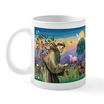 St Francis Doxie Mug