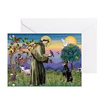St. Francis Dobie Greeting Cards (Pk of 10)