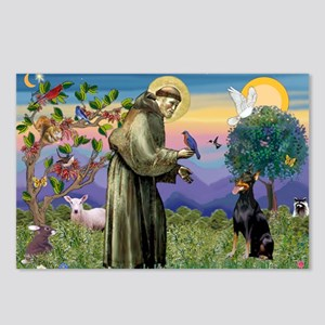 St. Francis Dobie Postcards (Package of 8)