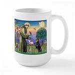 St. Francis Dobie Large Mug