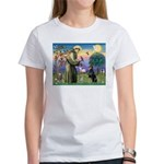 St. Francis Dobie Women's T-Shirt