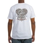 CoachCarruthers.com Fitted T-Shirt
