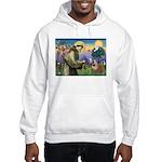 St. Francis & English Bulldog Hooded Sweatshirt