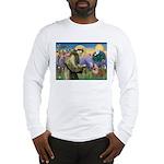 St. Francis & English Bulldog Long Sleeve T-Shirt