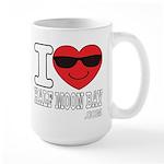 I LOVE HALF MOON BAY Mugs