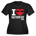 I LOVE HALF MOON BAY Plus Size T-Shirt