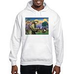 St. Francis Brindle Frenchie Hooded Sweatshirt