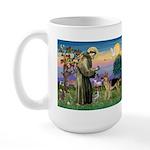 St Francis / G Shep Large Mug