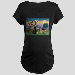 St Francis / G Shep Maternity Dark T-Shirt