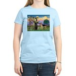 St Francis / G Shep Women's Light T-Shirt