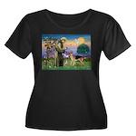 St Francis / G Shep Women's Plus Size Scoop Neck D