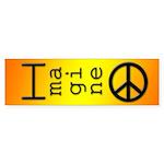 Imagine Peace Bumper Sticker (10 pk)