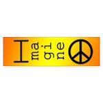 Imagine Peace Bumper Sticker (50 pk)
