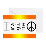 Imagine Peace Greeting Cards (Pk of 20)