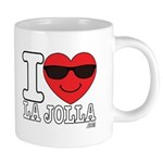 I LOVE LA JOLLA Mugs