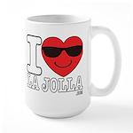 I LOVE LA JOLLA Mugs