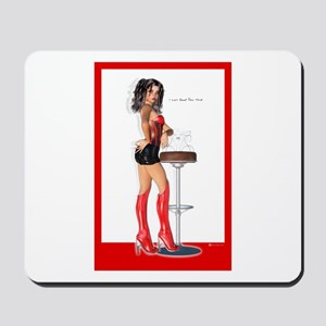 I Can Read Your Mind red Mousepad
