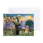 St Francis Golden Greeting Cards (Pk of 10)