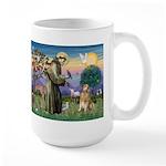 St Francis Golden Large Mug