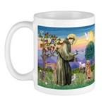 Saint Francis' Golden Mug