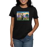 Saint Francis' Golden Women's Dark T-Shirt