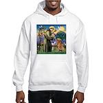 Saint Francis' Golden Hooded Sweatshirt