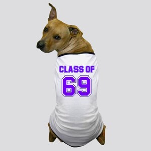 Groovy Class of 69 Dog T-Shirt