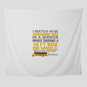 Personalize: Bus driver humor Wall Tapestry