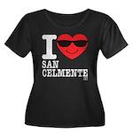 I LOVE SAN CLEMENTE Plus Size T-Shirt