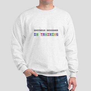 Knitwear Designer In Training Sweatshirt