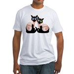 Siamese Twins Fitted T-Shirt