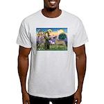 Saint Francis' Great Dane Ash Grey T-Shirt