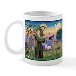 Saint Francis' Great Dane Mug
