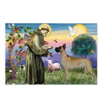 Saint Francis' Great Dane Postcards (Package of 8)