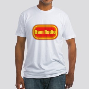 Ham Radio (retro look) Fitted T-Shirt