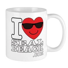 I LOVE SEAL BEACH Mugs
