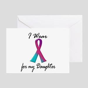 Thyroid Ribbon 1 (Daughter) Greeting Card