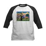 St Francis / Greyhound (f) Kids Baseball Jersey