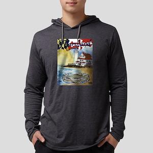 Maryland Lighthouse Long Sleeve T-Shirt