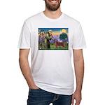 St. Fran./ Irish Setter Fitted T-Shirt