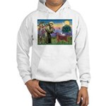 St. Fran./ Irish Setter Hooded Sweatshirt