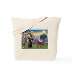 St. Fran./ Irish Setter Tote Bag